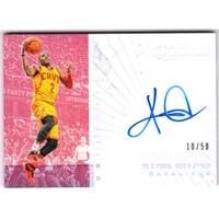 塞爾提克一哥 Kyrie Irving 小書Preferred無雙系列低限量50張亮面簽名卡 NBA 球員卡 球衣卡