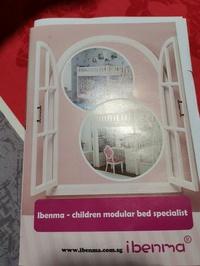 🚚 Ibenma loft bed 2 sets for kids