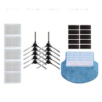 Free Shipping Filter+Side Brush+Mopping Pad Kit for Proscenic Jazz/Polar Bear Vacuum Cleaner