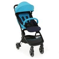 【奇哥Joie】pact lite dlx可折疊登機嬰兒手推車-藍/紅(內含雨套+蚊帳+收納袋) 好窩生活節