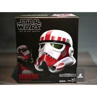 (參號倉庫) 現貨 孩之寶 星際大戰 黑標收藏 頭盔 1/1 1:1 特種部隊 變聲頭盔 白兵