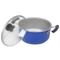 Ji fa Non-stick Dual-sided Stockpot Thick Stewing Pot Non-stick Pot Instant Noodles Pot Milk Pot Aluminum Pot Electromagnetic Furnace Universal