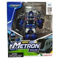 【麗嬰正版】TOBOT MINI 迷你機器戰士 METRON 電光 變形機器人