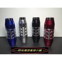 按鈕下壓式鋁合金排檔頭 手排 / 自排 通用款LANCER K6 K8 K9 FIT CRV COLTPLUS WISH