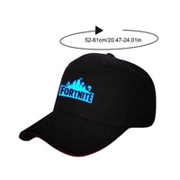 RYT Fortnite Outdoor Luminous Baseball Cap Night Light Hat For Fortnite