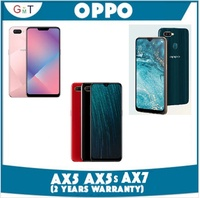 OPPO AX5 / AX5s / AX7  with 2 years Warranty (Telco set)***New***