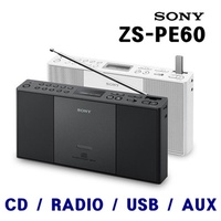 ★Sony★ Portable Speaker / ZS-PE60 / CD Player / USB Memory / FM AM RADIO / AUX Audio