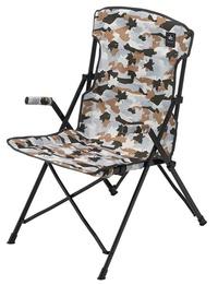 【鄉野情戶外用品店】 LOGOS |日本|  白迷彩野營椅/折疊椅 摺疊椅 休閒椅/LG73174043