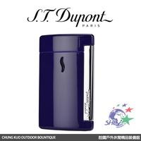 S.T. Dupont 法國都彭頂級打火機 - Minijet 防風噴射打火機 / 經典藍紫 / 10513 【詮國】