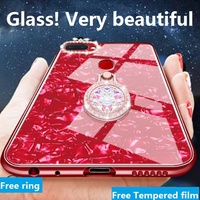🔥Hot🔥OPPO R11S/R11S Plus/R11/R11 Plus Tempered glass Conch Shell Phone Case cover