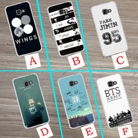 ad63f BTS Bangtan Boys music logo Young Forever Wings A.R.M.Y Hard Phone Coque Case For Samaung gala