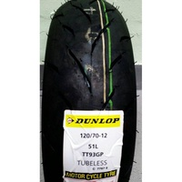 TT93 120/70-12 DUNLOP 登祿普 登陸普 GP 機車輪胎 熱融胎 完工2000 馬克車業