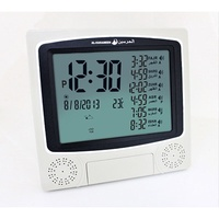 1pc dropshipping Muslim Azan Wall Clocks Azan Prayer Clock Quran Muslim Clock With Big Ccreen Dropsh
