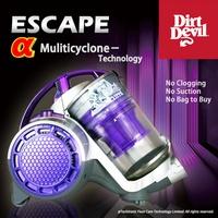 All New Dirt Devil 第十二代Escape吸力永不衰退 超高過濾吸塵器 非DYSON
