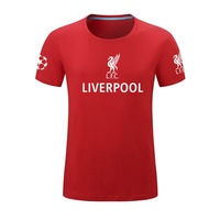 Liverpool Liverpool football training T-shirt short-sleeved men s Champions League jersey cotton hal