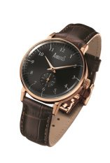 Arbutus Men's Leather Strap Watch AR804RBF
