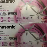 Panasonic F-M15GW Short Pipe DC Ceiling Fan With LED
