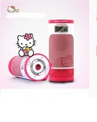 Hello Kitty Multi media speaker MP3 File Playback FM Radio PC Speaker LED LAMP USB 32GB