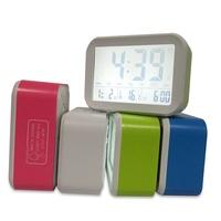 ☺☺ABS LED小夜燈數字溫度計大型LCD顯示屏貪睡功能