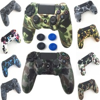 PS4 Controller Silicone Case Gel Guards sleeve Skin Grips Cover Caps For Playstation 4 PS4 Pro Slim Gamepad Grip cap Accessories