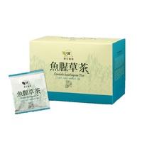 白鶴靈芝茶、魚腥草茶、一順暢茶、帝王茶、香椿茶