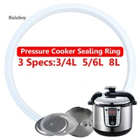HLBY♠3/4/5/6/8L Instant Pot Electric Pressure Cooker Silicone Elastic Sealing Ring