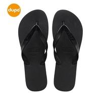 Dupe Brazil 2018 Summer CLASSIC Solid Color Flip-flops Men And Women Couples Leisure Flat Beach Sandals