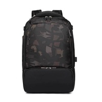 Ozuko Business Computer Backpack Usb Charging Backpack Male Outdoor Multi-purpose Travel Backpack