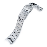 22mm Super Oyster 316L Stainless Steel Watch Band for Orient Mako II & Ray II, Submariner Clasp