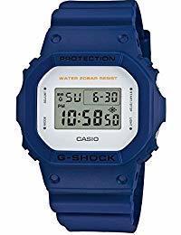 Casio G Shock DW 5600 M Military Color Series Blue Watch DW 5600 M - 2 Digital Timer Stopwatch [P...