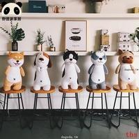 日本韓國熱賣現貨周邊麻糬哈士奇柴犬羽絨棉法鬥沙皮狗巴哥鬥牛犬