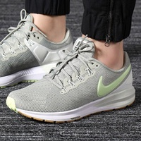 【Dr.Shoes 】AA1640-300 Nike Air Zoom Structure 女鞋 灰綠 慢跑鞋