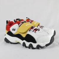 Skechers D LITES-ONE PIECE聯名海賊王 664211LWRDB 中童 魯夫【iSport愛運動】