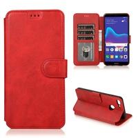 เคส Huawei Y5 Lite Prime 2018 Y6 Y7 Y9 2019 Honor 8A เคสฝาพั Flip Cover Wallet Case Leather Silicone Card Holder Stand