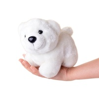 (Lazada) Lazada Stuffed Polar Bear Animal Plush Bears Kids Toy Baby Dolls 7   White-