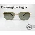 ◎明美鐘錶◎ Ermenegildo Zegna 義大利品牌 經典金色金屬 墨鏡/太陽眼鏡 EZ0051-D 32N