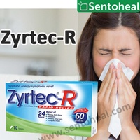[ZYRTEC] Zyrtec-R 10 tablets - Cold and Allergy symptoms relief