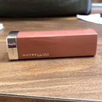 Maybelline 極綻色緞光絲柔軟唇膏373焦糖實驗 二手9.9成新