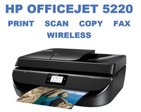 HP OfficeJet 5220 ( replacement of 4650 ) All-in-One Printer Print copy scan fax Wireless Office jet