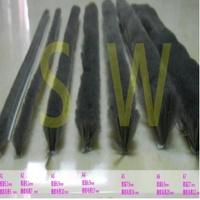 自黏毛刷條 A4 底座寬6.9 mm 毛長13 mm(背膠-3米售)毛刷條(防撞條 門邊條 氣密條 門縫條 隔音條)