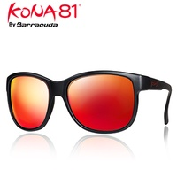 美國Barracuda KONA81 運動時尚太陽眼鏡-鍍紅