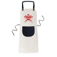 Kite Chinese Traditional Culture Paper Cutting Cooking Kitchen Beige Adjustable Bib Apron Pocket Women Men Chef Gift - intl