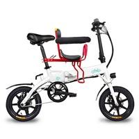 【FIIDO】全新F1電動親子摺疊車(電動車 腳踏車 自行車 親子車)