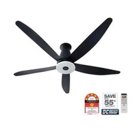 "Panasonic FM15EX 60"" Black ceiling fan"