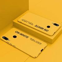 紅米note7手機殼小米redmi保護套note 7新品磨砂硬殼防摔全包