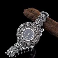 silver jewelry s925 sterling silver jewelry retro national wind seiko ladies wat