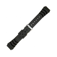 "Seiko ""Monster"" Diver Strap (22mm, Black, 4FY8JZ)"