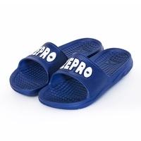 【ZEPRO】男款休閒拖鞋LIGHT系列-深藍