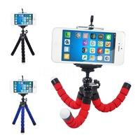 Mini Flexible Camera Phone Holder Flexible Octopus Tripod Bracket Stand Holder Mount Monopod Styling