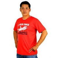 空軍基地開放 短袖T恤 潮T 義賣 台灣製 圓T 空軍 排汗衫 黑藍紅IDF(GP-08)【嘎嘎屋】